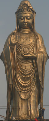 South China Sea Avalokitesvara Statue